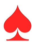 Poker symbol Royalty Free Stock Image