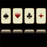 Poker symbols Royalty Free Stock Photo