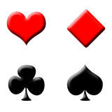 Poker symbols Stock Photo