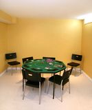 Poker table Stock Image