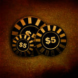 Poker table Royalty Free Stock Photography