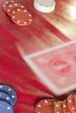 Poker Table Deal Royalty Free Stock Photography
