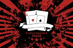 Poker Texas Hold'Em Royalty Free Stock Photo