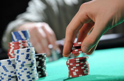 Poker texas holdem Stock Images