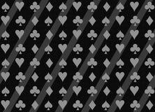 Poker texturized pattern. royalty free illustration