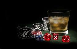 Poker theme Royalty Free Stock Photo