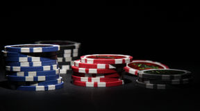Poker theme royalty free stock image