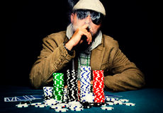 Poker time Stock Photo