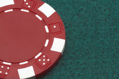 A poker token Stock Photo