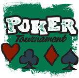 Poker Tournament Stock Photography