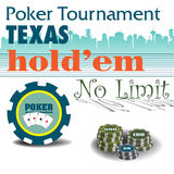 Poker tournament Stock Photos