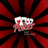 Poker vector logo Stock Photos