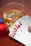 pokera. Fotografia Stock