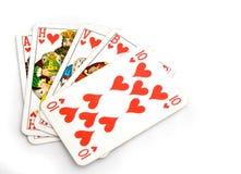 pokera. Zdjęcie Stock
