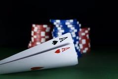 pokera. Obrazy Royalty Free
