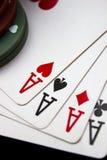 Pokerabend Lizenzfreies Stockbild
