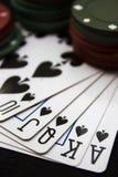 Pokerabend Lizenzfreies Stockfoto