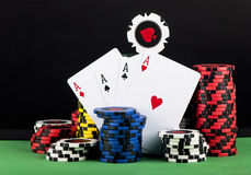 Pokerchip lizenzfreies stockfoto