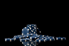 Pokerchips Stockfotografie