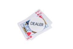 Pokerchips Photographie stock libre de droits