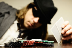 Pokerface Stock Image