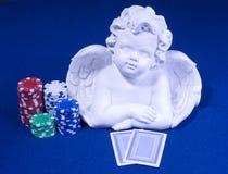 Pokerface della mazza del casinò Immagine Stock