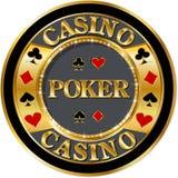 Pokerfahne Lizenzfreies Stockbild