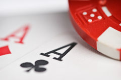 Pokergame Royalty Free Stock Photography