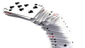 Pokerkarten Stockfotos
