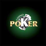 Pokerkasino Arkivbilder