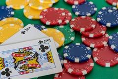 Pokerkort Royaltyfri Bild