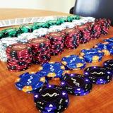 Pokernatt Royaltyfri Fotografi