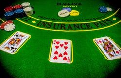 Pokersatz lizenzfreies stockbild