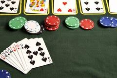Pokerspiel Lizenzfreie Stockbilder