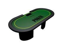 Pokertabell Royaltyfri Foto