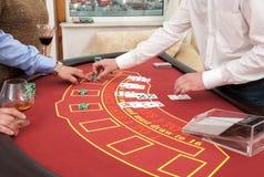Pokertabell Arkivbilder