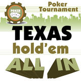 Pokerturnier Stockfotografie