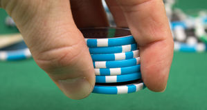 Pokerwette Stockfotografie