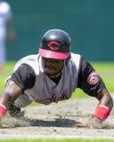 Pokey Reese, Cincinnati Reds Images stock