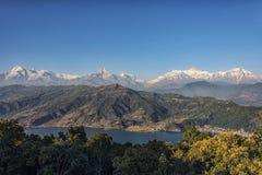 Pokhara και περιοχή Annapurna Στοκ Φωτογραφίες