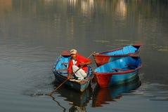 pokhara λιμνών στοκ φωτογραφία με δικαίωμα ελεύθερης χρήσης