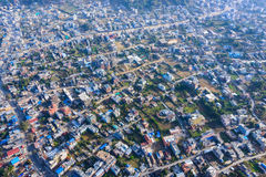 Pokhara aerial view, Nepal Royalty Free Stock Images