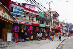 Pokhara City Nepal Royalty Free Stock Images