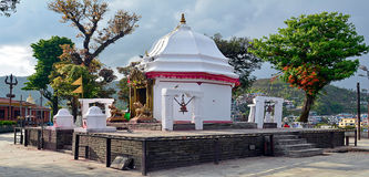 Pokhara Nepal del tempio di Bindabasinai Fotografia Stock Libera da Diritti