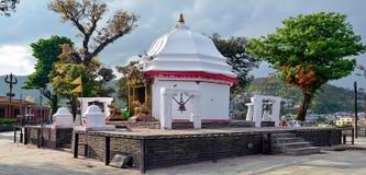 Pokhara Nepal del templo de Bindabasinai Foto de archivo libre de regalías