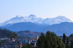Pokharastad, Nepal stock afbeeldingen