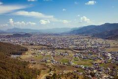 Pokharavallei - Nepal Royalty-vrije Stock Foto