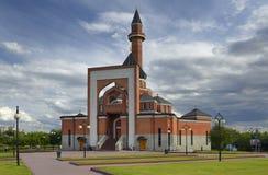Poklonnaya小山的纪念清真寺 库存照片