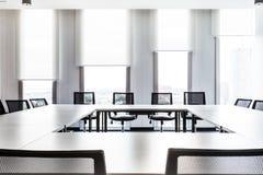 Pokojów konferencyjnych Prętowych i prętowych wykresów okno abstrakt zdjęcia stock