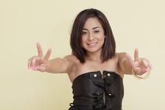 pokojowa kobieta Zdjęcia Royalty Free